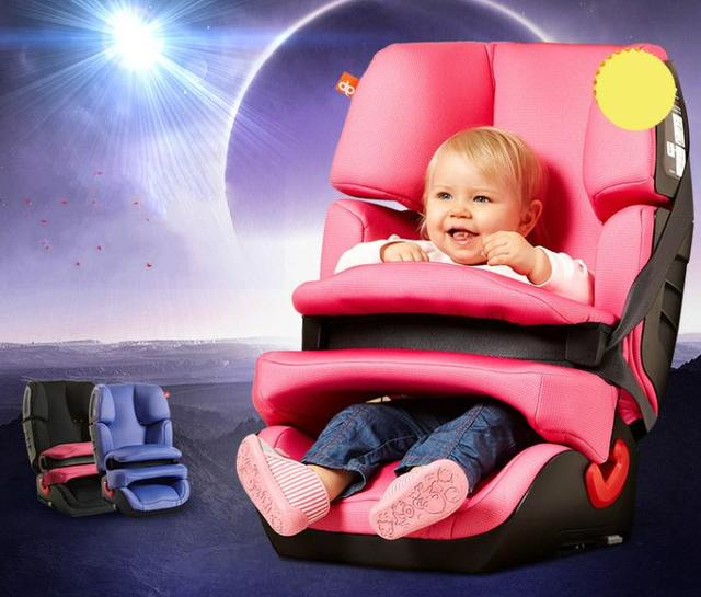 High quality child car safety seat CS668-PI isofix interfaces for 9months-12 years old children