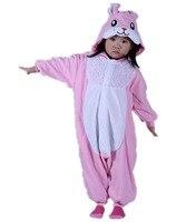 Lovely Kids Baby Boys Cosplay Rabbit Costume Onesies Pajamas Polar Fleece Winter Cartoon Pyjamas Girl Halloween