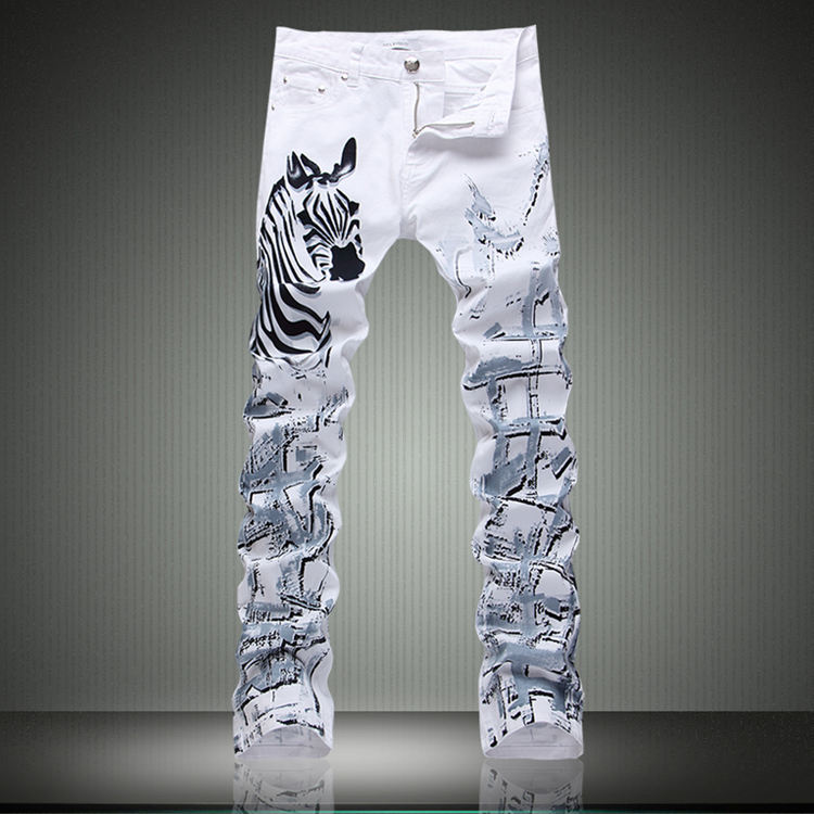 Zebra Skinny Jeans Promotion-Shop for Promotional Zebra Skinny ...