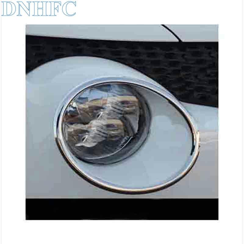 DNHFC headlight lamp cover ring chrome trim Car Accessories For Nissan juke 2011 2012 2013 2014