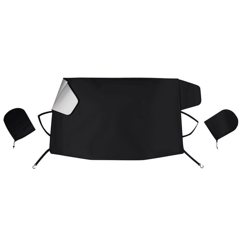 Newest Windshield Snow Cover Ice Removal Wiper Visor Protector All Weather Winter Summer Auto Sun Shade For Cars