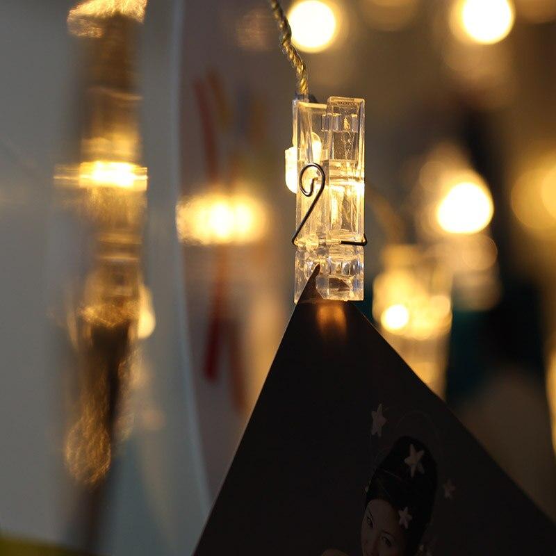 Ehe zimmer schmuck bilderrahmen LED twinkle licht bezieht klemmlampe ...