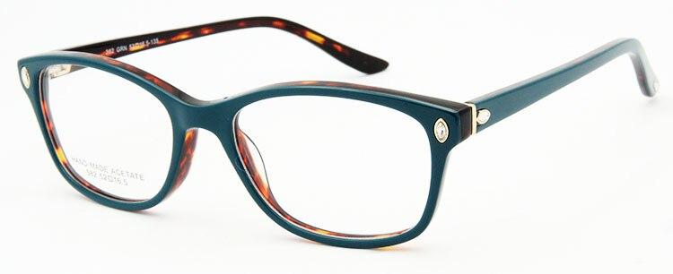 ESNBIE Италия дизайн рамки очки для женщин Роскошные Алмаз оригинальное качество близорукость компьютер Oculos де Грау Femininos бренд - Цвет оправы: frame glasses GN