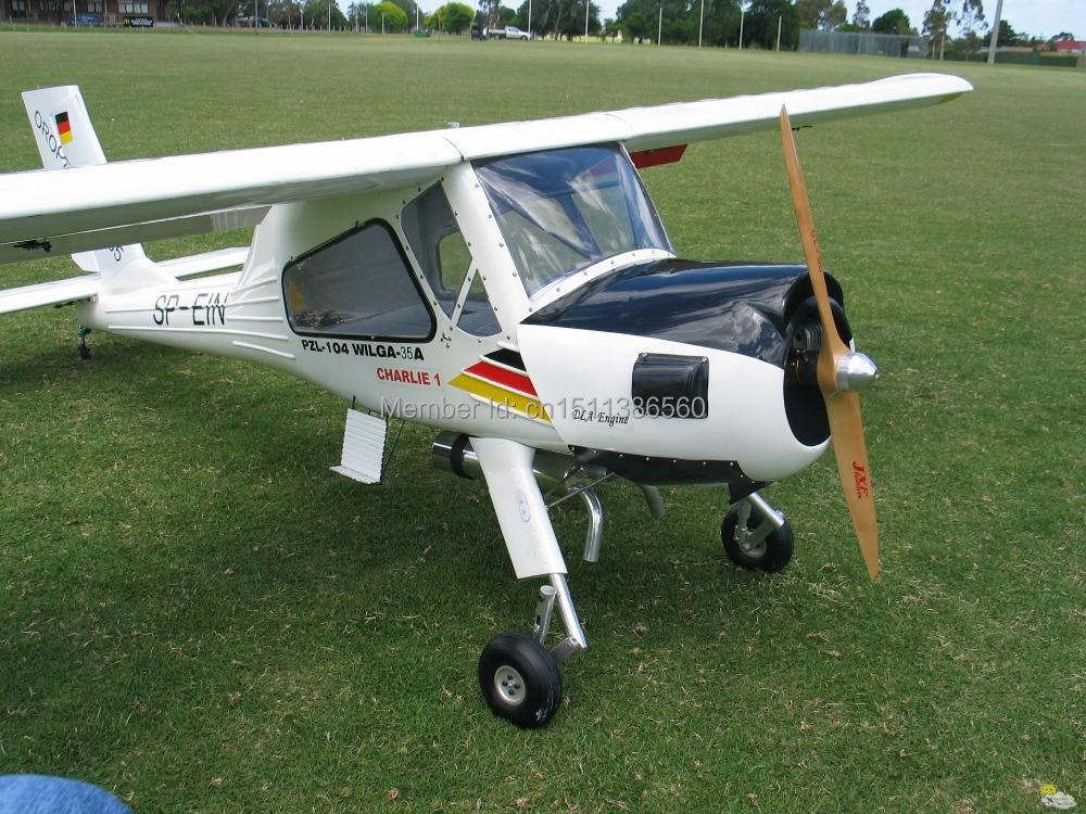 Wilga 20CC Gas engine airplane model / Carbon Fiber