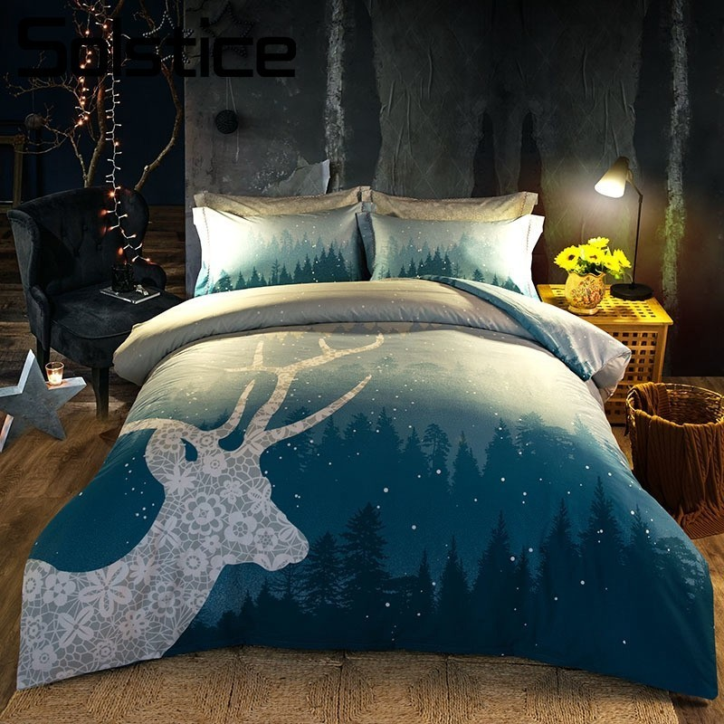 Solstice Home Textile Cartoon Pattern Print Bedlinen Cotton Comfortable 4PCS Bedding Sets Duvet Cover Pillowcase Bed Sheet QueenSolstice Home Textile Cartoon Pattern Print Bedlinen Cotton Comfortable 4PCS Bedding Sets Duvet Cover Pillowcase Bed Sheet Queen