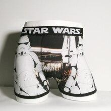 Print Cartoon Boxer Underwear Cotton Men Star Wars Boxers St