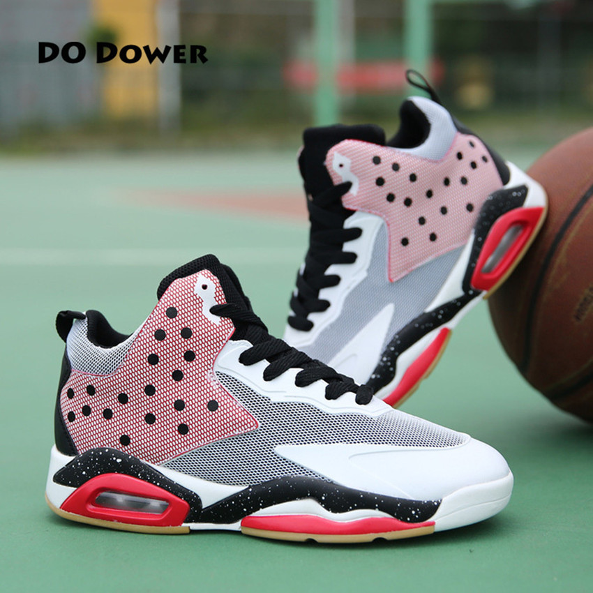 Do Dower Basketball Shoes Cushioning Breathable Lace-Up basketball shoes men Sneakers Sport Shoes For Men do dower men running shoes lace up sports shoes lovers yeezys air outdoor breathable 350 boost sport sneakers women hot sale