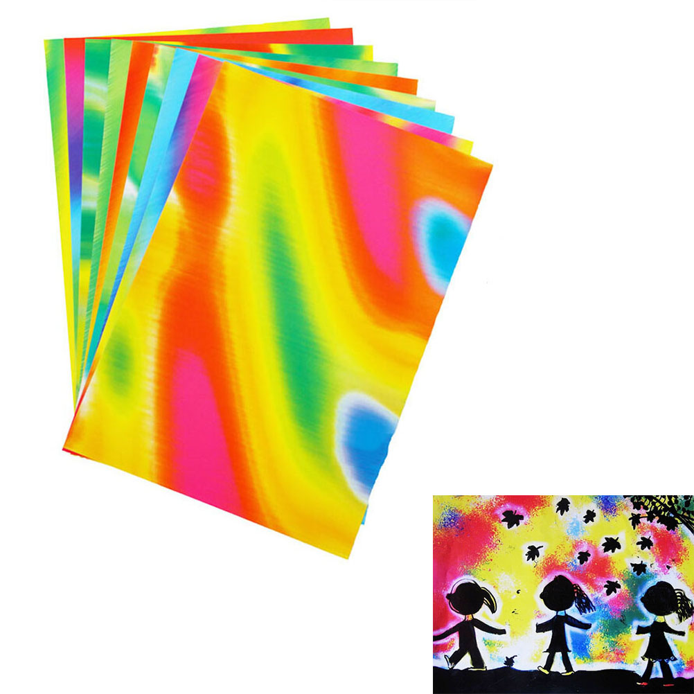 10pcsset doodle pad painting card colorful drawing paper kids drawing apply wholesale random send - Drawing Paper For Kids