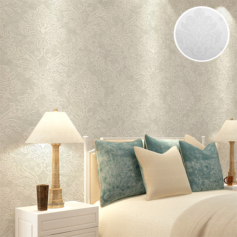 Aliexpress.com : Buy Classic Victorian Embossed Teal Blue Grey Damask  Wallpaper Modern Luxury Textured Wall Paper Roll For Living Room Sitting  Room From ... Part 81
