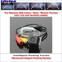 Liislee Intelligentized Reversing Camera For Daewoo ZAZ Lanos / Sens / Nissan Terrano Rear View / Dynamic Guidance Tracks