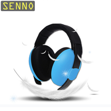 цены Adjustable Baby Earmuffs Hearing Protection Safety Earmuffs Noise Reduction Ear Protector for Child Baby 6 colors