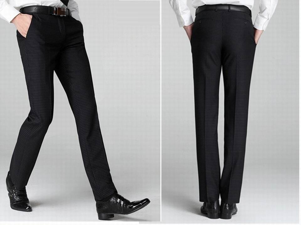 90e008610e pantalones de vestir slim fit para hombre