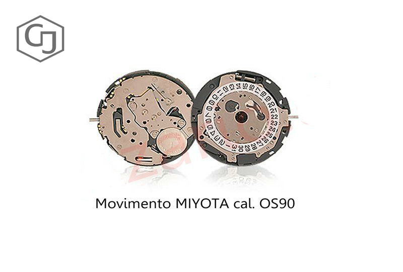 Movimento Miyota 0S90 cronografo quarzo Movement chrono quartz OS90 watch Japan