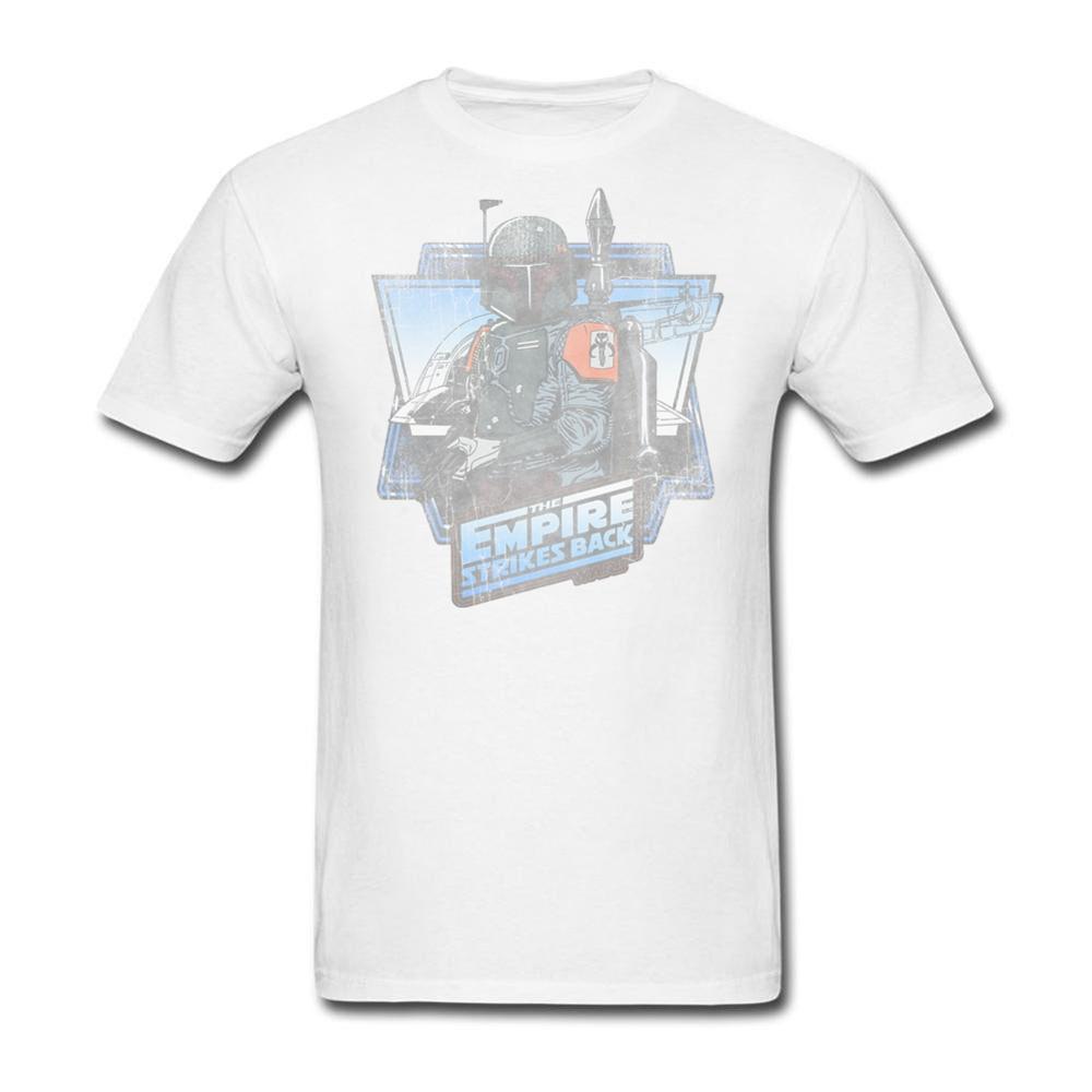 Shirt design website cheap - Shirt Design Website Boba Fett The Empire Strikes Back Short Sleeve Thanksgiving Day Custom Men
