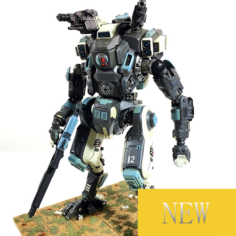 JOY TOY  1:27 the 3rd generation Robot soldiers  movable mecha anime military robot  figures 5pcs lots 2017 film extraordinary corps mecha five beast hand collection model toy