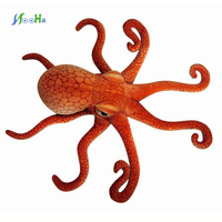 Kawaii Giant Plush Animals Simulation of Marine Animal Plush Toys Octopus Home Decoration Gifts For Children Birthday Gifts
