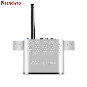 Image 5 - Measy AV220 2.4G bezprzewodowy nadajnik AV odbiornik Audio wideo TV odbiornik sygnału AV nadajnik przejść przez ścianę 200M / 660FT dla SD