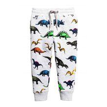 Kids Boys Pants Cotton Trousers Stretch Knit Harem Bottoms Boys Clothes Character Print Kids Hip Hop Drawstring Sweatpants xxx 1
