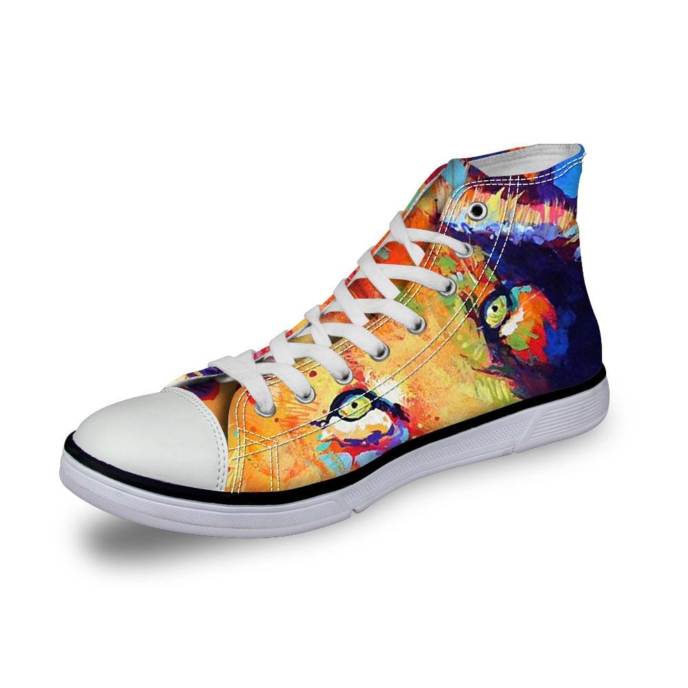 Noisydesigns señoras zapatillas de deporte mujeres 3D oso de - Zapatos de mujer - foto 4