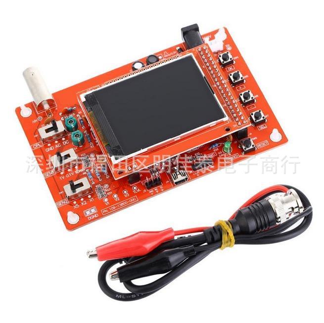 DSO138 2.4 TFT Pocket-size Digital Oscilloscope Kit DIY Parts Handheld + Acrylic DIY Case Cover Shell for DSO138 new 1pcs dso138 2 4 tft digital oscilloscope kit diy parts 1msps with probe