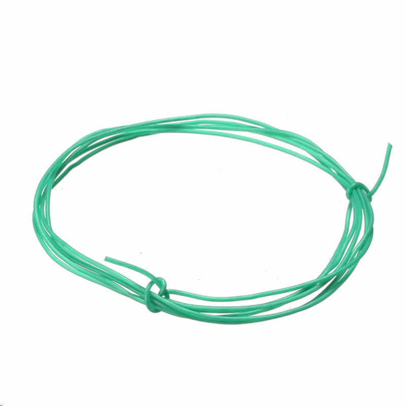 Hijau 1 M 8/10/12/14/16/18/20/22/24 /26 AWG Kawat Silikon SR Wire untuk RC Model