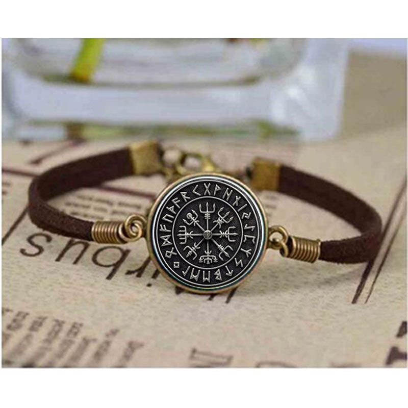 personalised compass leather original product s hurleyburleyman men by traveller bracelet