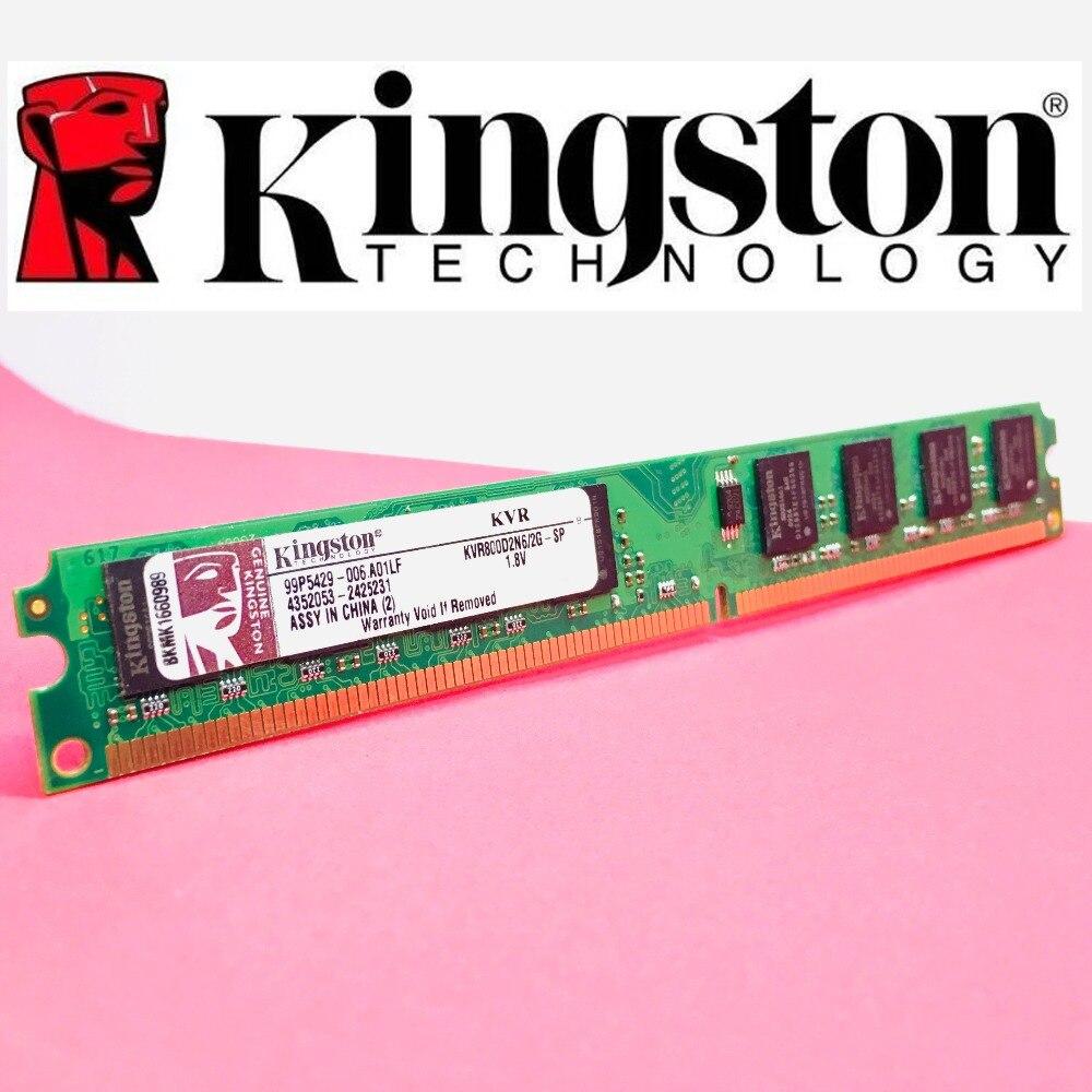 Kingston PC ram bellek Memoria modülü bilgisayar masaüstü 1GB 2GB PC2 DDR2 4GB DDR3 8GB 667MHZ 800MHZ 1333MHZ 1600MHZ 8GB 1600