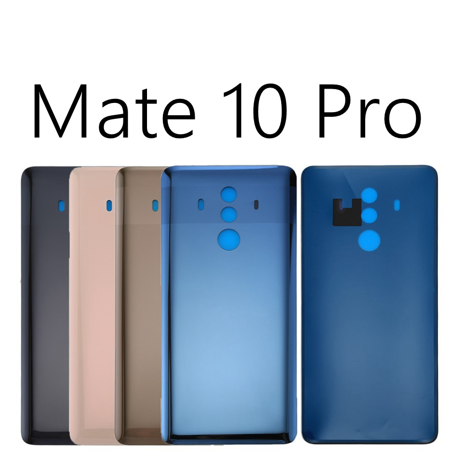 For Huawei Mate 10 / 10 Pro Rear Housing Back Battery Glass Cover Door Case Replacement