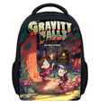 13 Inch Fashion Cartoon Gravity Falls Kids Backpack Kindergarten School Bag Children Printing Backpack Girls Boys Mochila