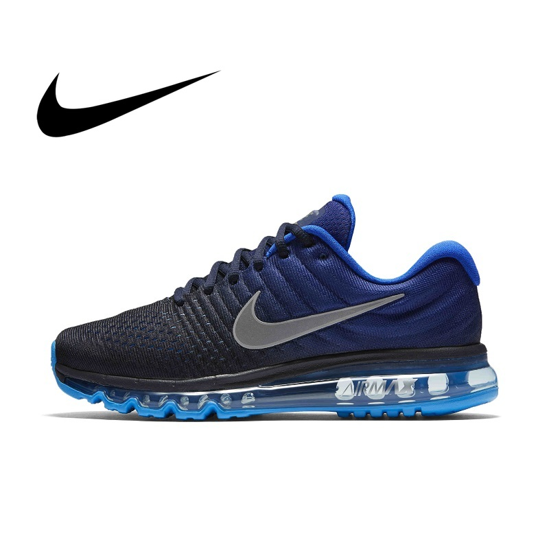 Original Authentic Nike AIR MAX Men's Running Shoes Fashion Breathable Outdoor Sports Shoes 2019 Fashion New 849559-400(China)