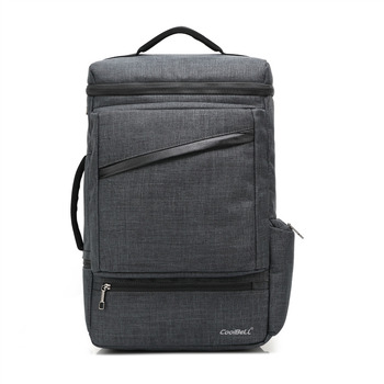 """CoolBell  New Fashion External USB Interface laptop bag  For 14"""" notebook computer for Macbook 15.6"""" Handbag travel backpack"""