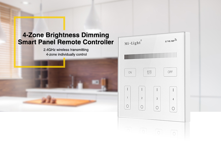 T1 Milight Led Panel Remote Controller 2 4g Wireless 4