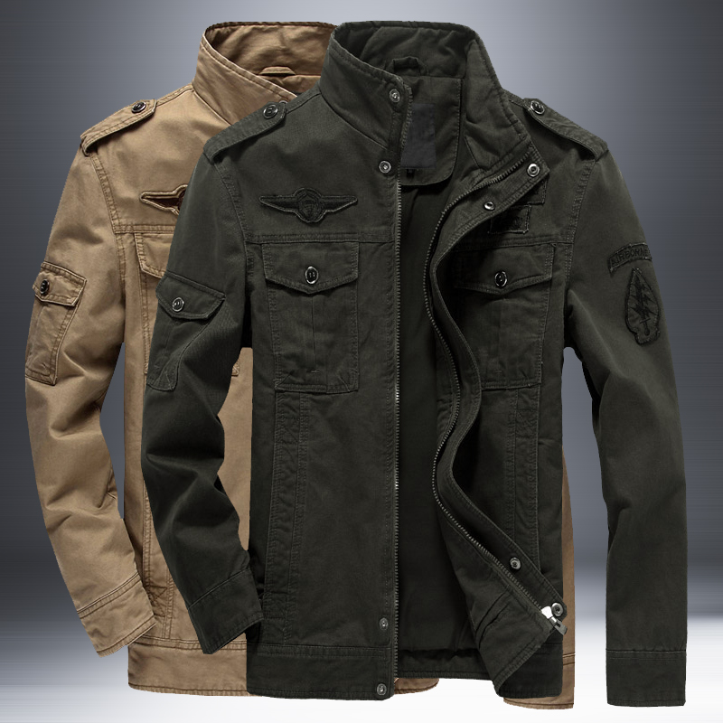 Men Casual Jacket Army Military Outdoors Coats Outerwear Jaqueta Masculina Parka