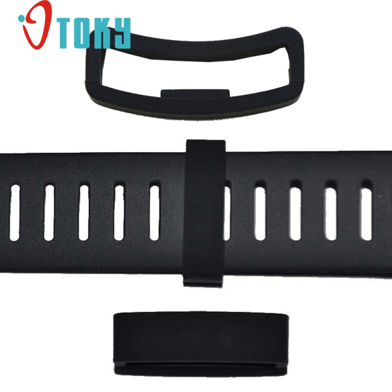 Excellent Quality 2016 New Luxury Rubber Security Band Clasp Ring Loop Fastener For SUUNTO CORE Free Shipping #BET-5