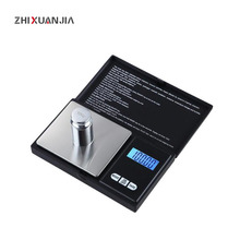 100g 500g Precision pocket Jewelry Scales Laboratory Balance Portable digital Weight Gram scales Medicinal scale Libra steelyard