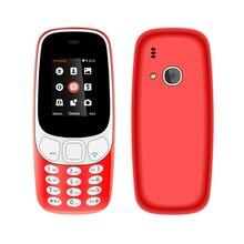 Новинка 2017 года оригинальной Mobile 3310 Z3310 телефон dual sim карты Bluetooth фонарик MP3 MP4 fm Камера 1.8 дюймов мини старые дешевые телефон