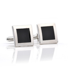 hot deal buy fashion women men's cuff links for shirts luxury rhinestone crystal business lawyer square cufflinks gemelos wedding gifts