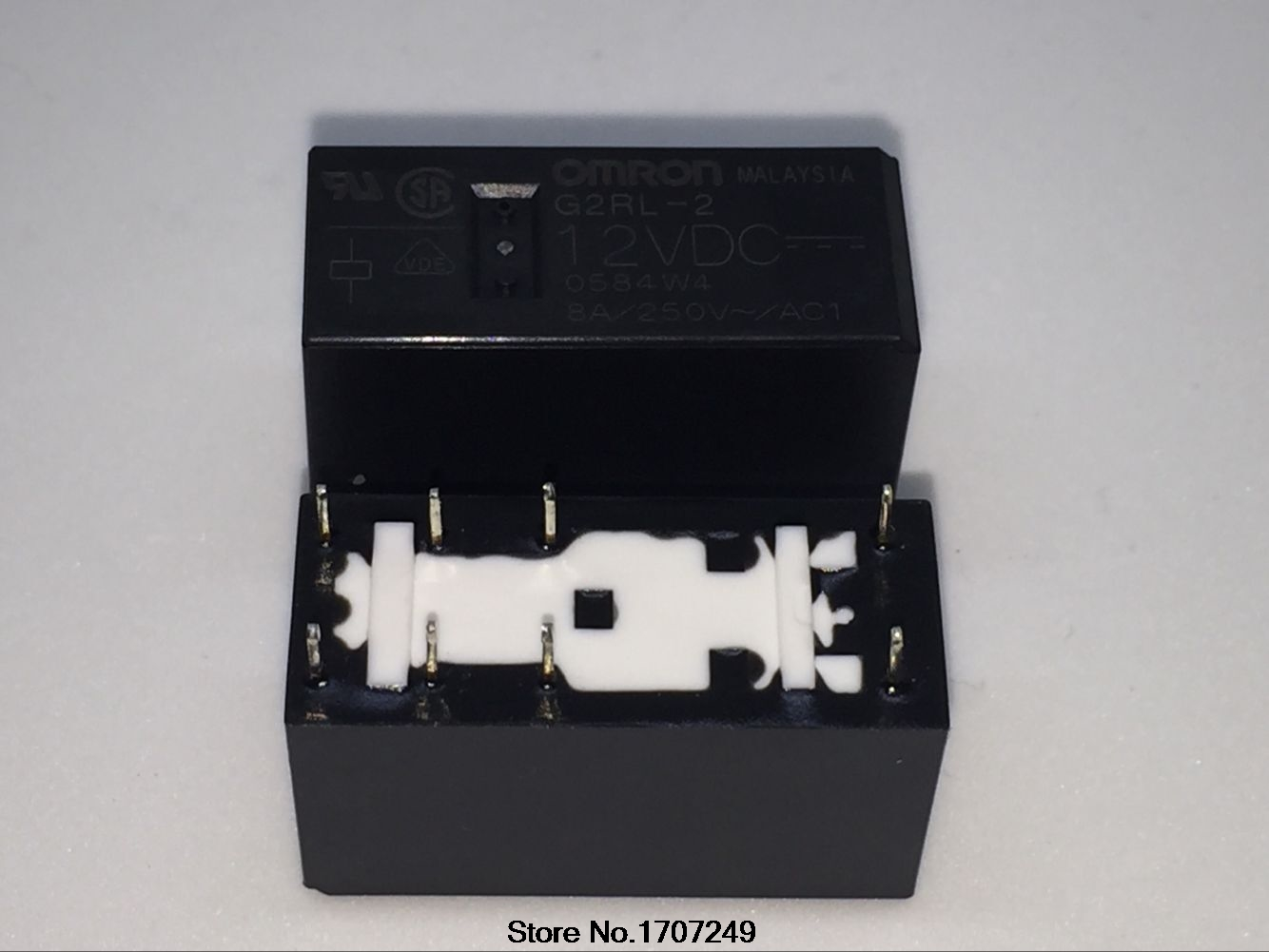 New 5pcs OMRON G2R-2-SN 24VDC RELAY 8-PIN