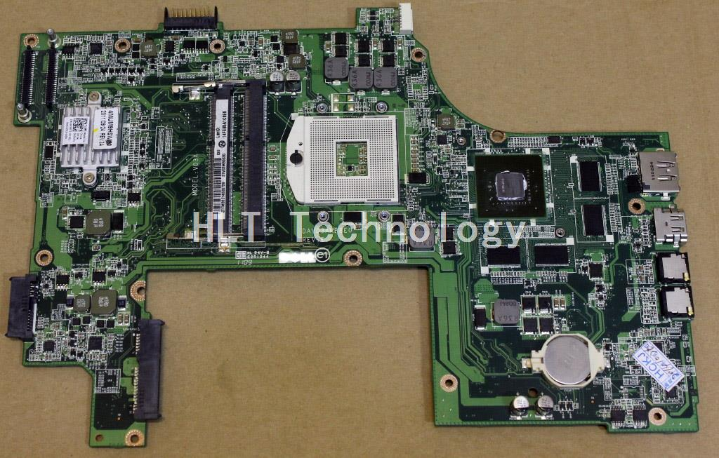 laptop Motherboard For Dell 17R N7110 CN-037F3F 37F3F 037F3F DAV03AMB8E1 GT525M non-integrated graphics card 100% fully tested цены