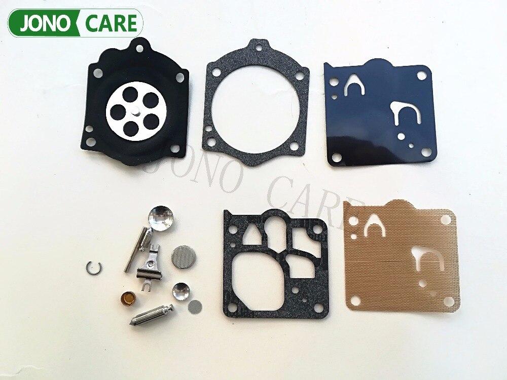 K12-WG WB WG 6 7 8 9 10 K15-WJ K12-WJ carburetor Repair rebuild kit for Husqvarna 3120XP & 3120 272 268 61 MS660 066 Walbro Carb