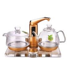 KAMJOVE vetro ispessimento bollitore elettrico bollire tè tè di salute di Intelligenza Colorato di cristallo di vetro del tè elettrico stufa