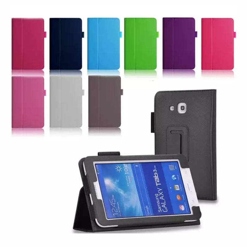 Standing PU Leather Case For Samsung Galaxy Tab E3 Lite 7.0 inch SM-T113 SM-T116SM-T110 SM-T111 Cover Magnetic Closure