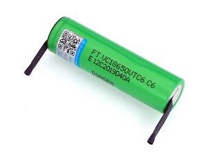 Image 2 - VariCore VTC6 3.7 V 3000 mAh 18650 Li Ion Oplaadbare Batterij 30A Ontlading VC18650VTC6 batterijen + DIY Nikkel Lakens
