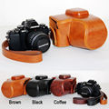Leather Camera case bag Grip strap for Olympus OM-D OMD EM10 E-M10 14-42mm ONLY