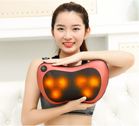 Car Seat Cover Relaxation Massagebody Massager Heating Car Home Body Massage Pillow Neck Cervical Traction Massager