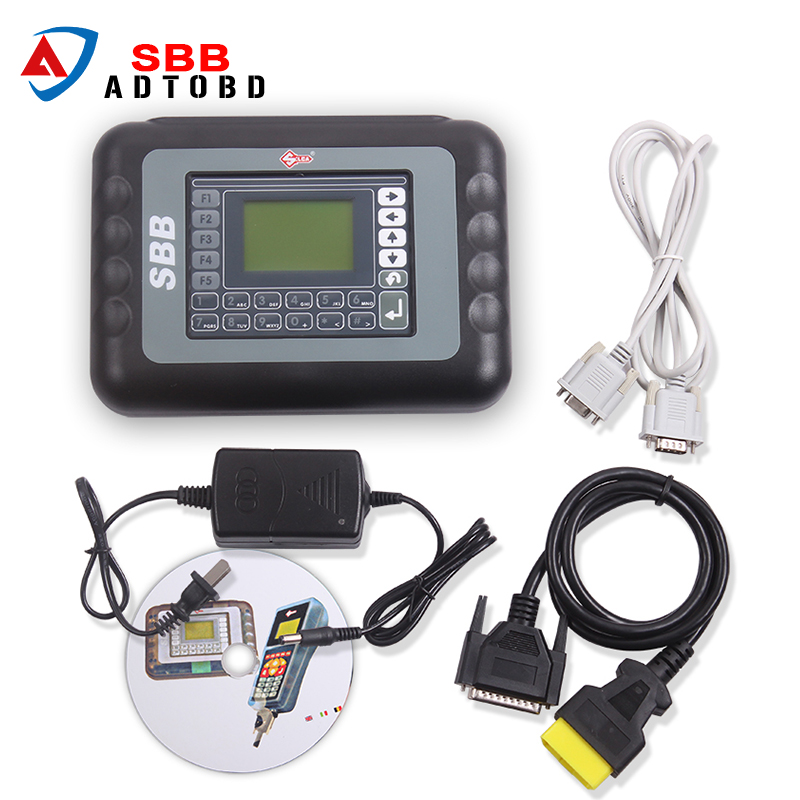 Latest SBB Key Programmer V33.01 No Token Limit Auto Key Programmer SBB V33.01 Immobilizer Programmer Support most brazil car3
