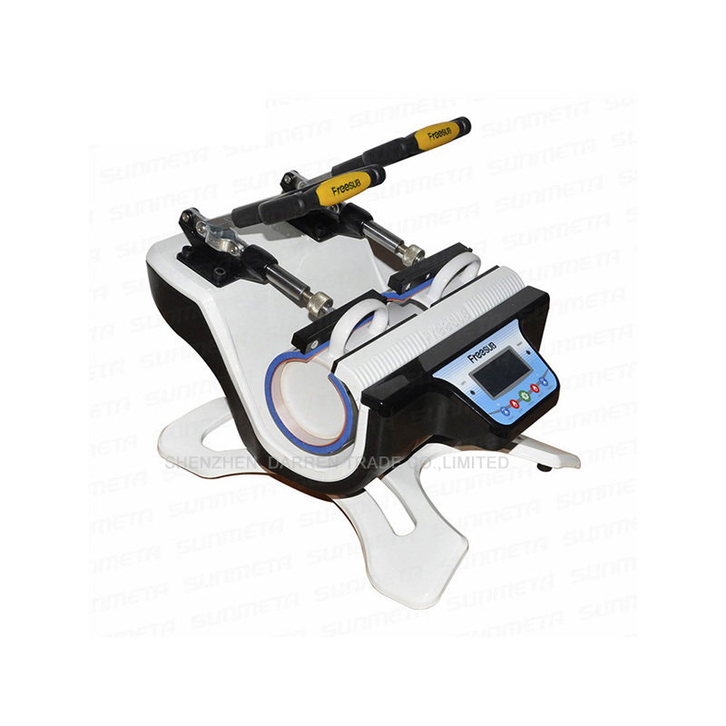 St210 Mini Cup baking machine Multifunctional heat transfer baking cup machine Vertical Mug Press machine