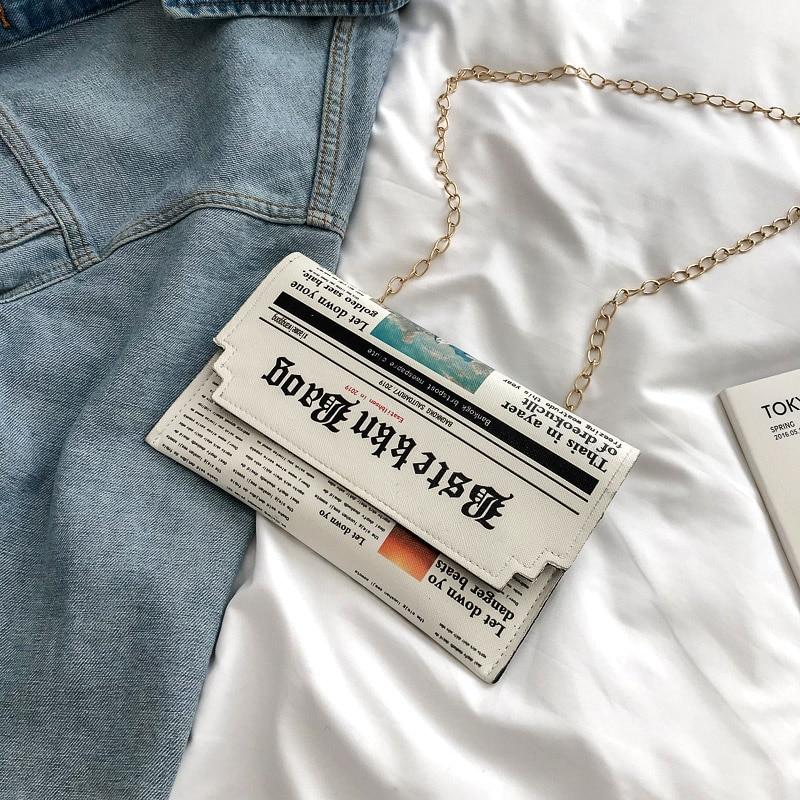 LTBOOS Envelope Bag Women Summer Small Chain Messenger Bag Ladies Crossbody Women's Shoulder Wallets And Clutch Purses 2019