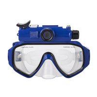 Professional Underwater Camera Diving Mask Cam Scuba Snorkel,WW 12 HD 20m Underwater Action Camera Sports Camera Recorder Mask