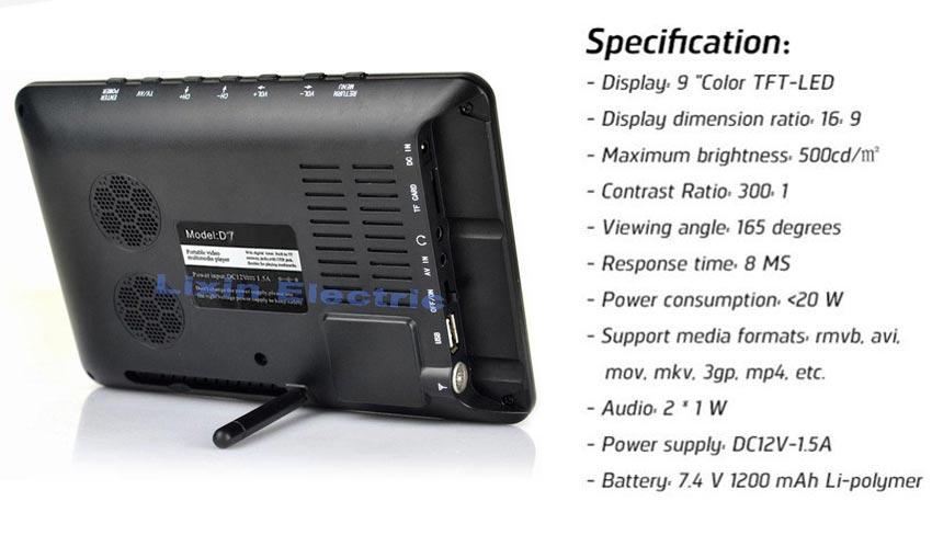 HD TF LED Audio 10